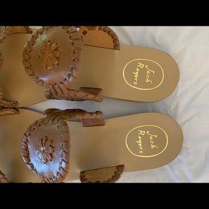 Jack Rogers Shoes - Jack Rogers Lauren Sandals Tan Size10